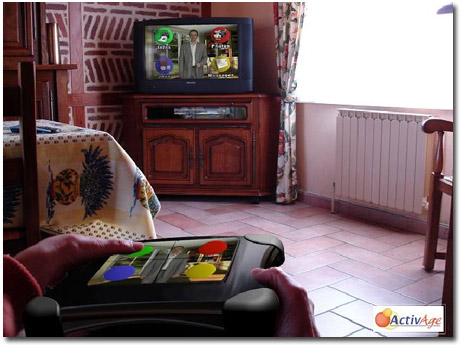 Activage introduit l 39 interactivit sur le t l viseur des personnes g es - Vente maison personne agee ...