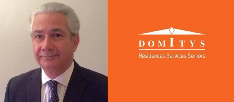 Résidence Senior : Arnaud Fety rejoint le groupe DOMITYS