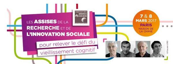 Guide des maisons de retraite avec Capgeris, portail d'information pour les  personnes agées : Participez à la consultation nationale des Assises de la Recherche et de l'Innovation Sociale