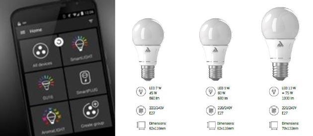 maison intelligente des ampoules connect es moins de 20. Black Bedroom Furniture Sets. Home Design Ideas