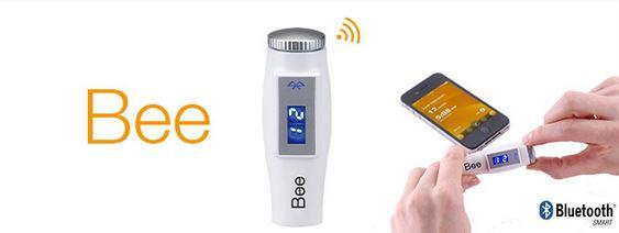 Bee : Un dispositif de suivi du taux de glycémie et des injections depuis le smartphone