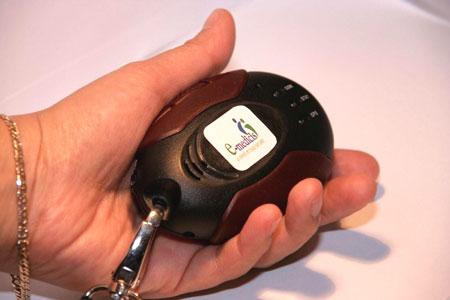 Le bouton sur la personne que signifie