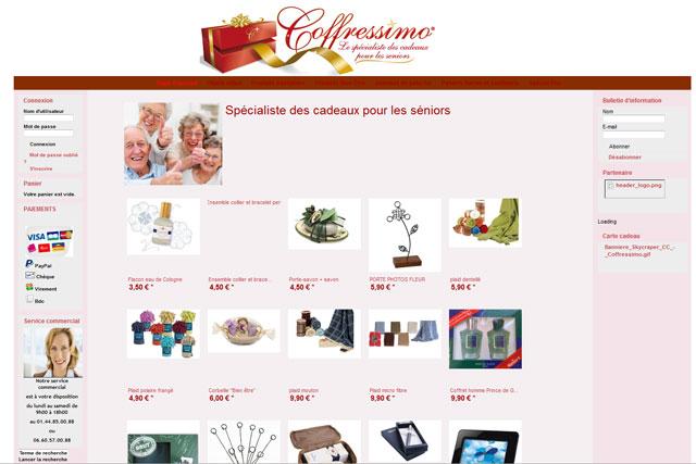 Un catalogue de cadeaux pour les personnes âgées