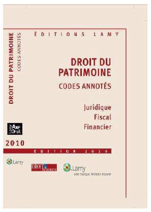 Droit du Patrimoine - codes annotés