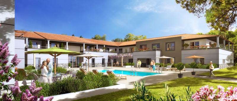 Le domaine de Maleska : Bientôt une résidence avec services pour Senior à Poussan, à 15 minutes de Montpellier