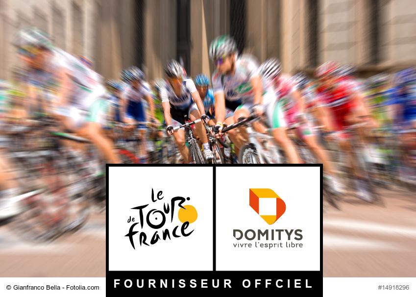 Les résidences services senior Domitys seront sur la ligne de départ du Tour de France 2018