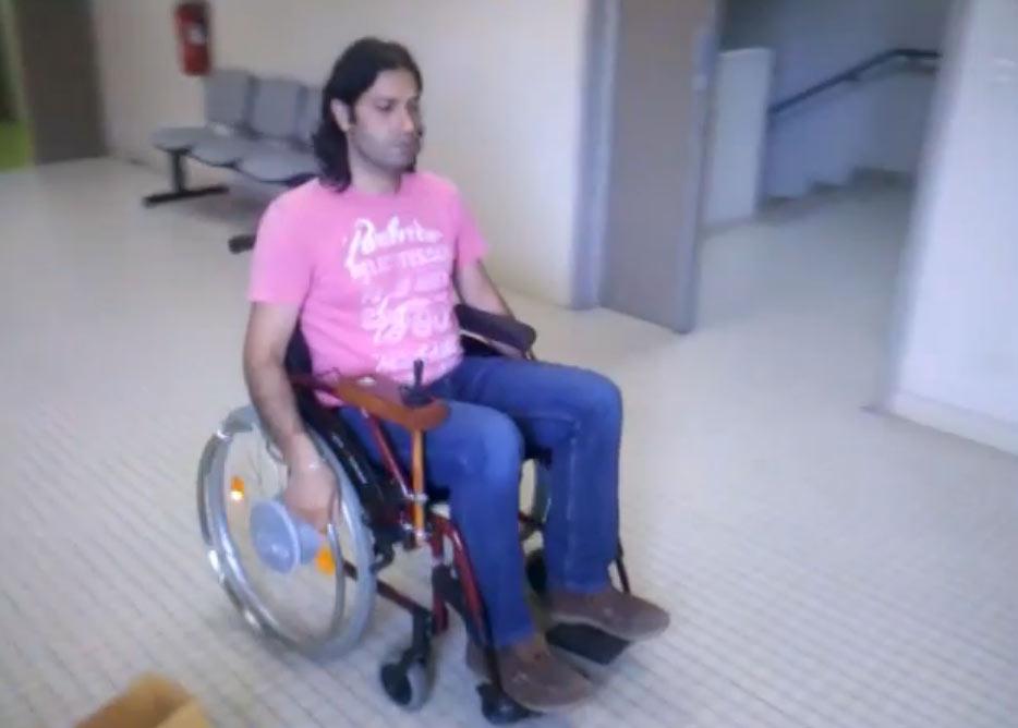 Interview du Dr Sami MOHAMMAD qui va bientôt proposer un kit de motorisation des fauteuils roulants