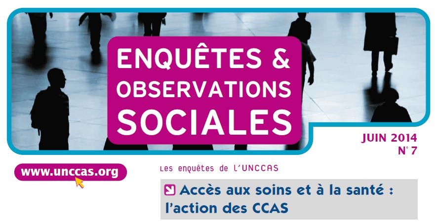 ENQUÊTES & OBSERVATIONS SOCIALES de l'UNCCAS