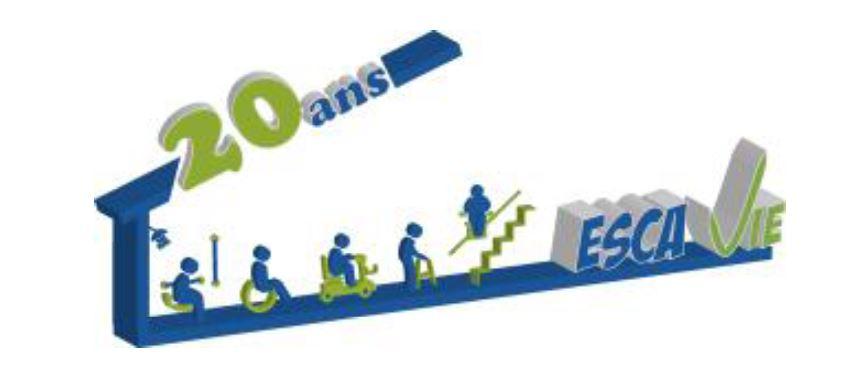 Escavie, déjà 20 ans d'accompagnement, d'aide et de conseil afin de favoriser le maintien à domicile des personnes en situation de handicap.