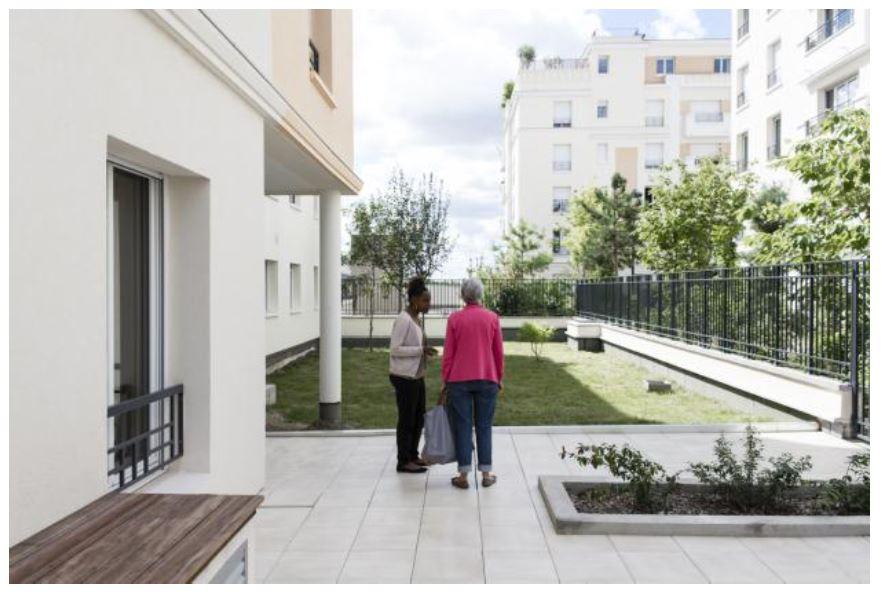 Maison de retraite charenton une nouvelle r sidence for Amenagement maison personne agee