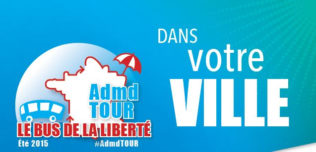 Fin de Vie : les jeunes mobilisés avec l'opération #AdmdTour, le bus de la liberté