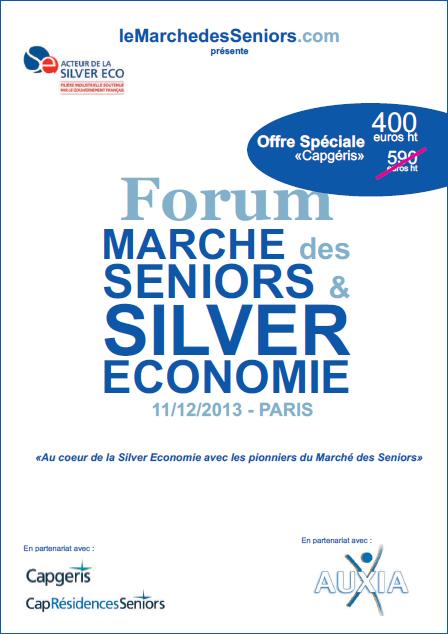 forum march des seniors silver economie tarif sp cial lecteurs. Black Bedroom Furniture Sets. Home Design Ideas