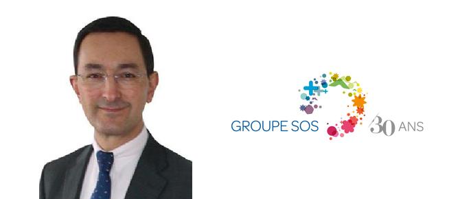Jean-Christophe Paille nommé Directeur Général d'Habitat et Soins et Directeur Général du secteur Solidarités du GROUPE SOS