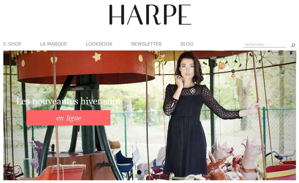 Interview de Marina Benesty, créatrice de la toute nouvelle  marque de prêt à porter HARPE