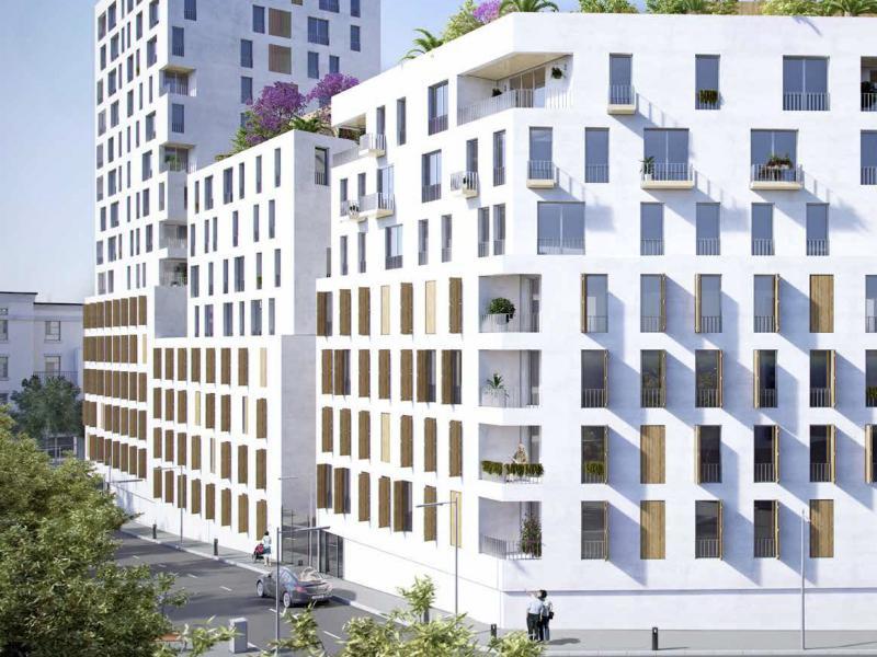 Un projet de résidence avec services pour senior à MARSEILLE dans le 6ème