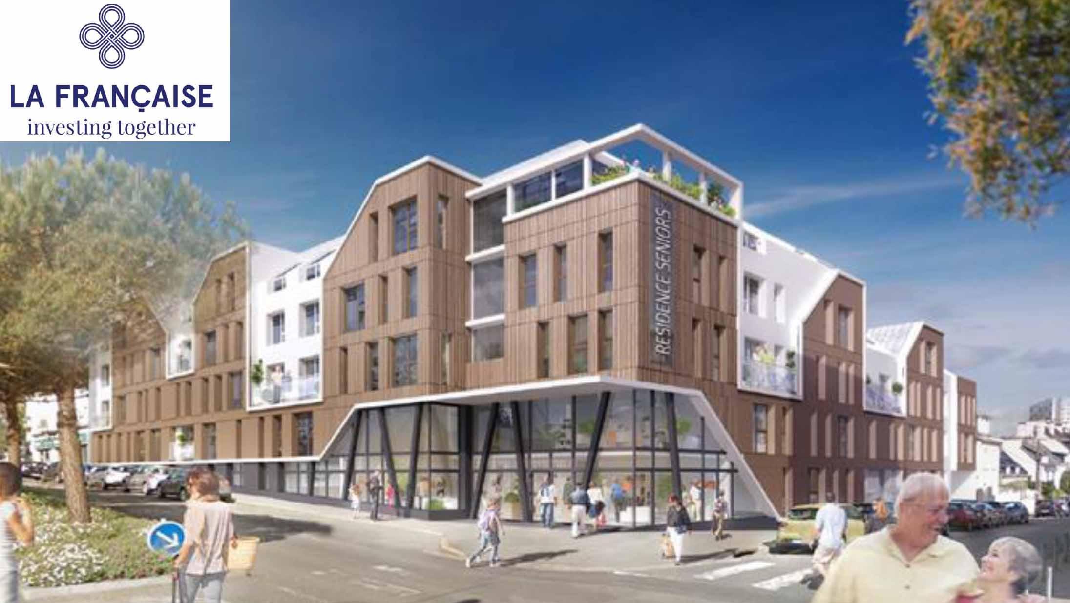 La future résidence senior des Jardins d'Arcadie à Lorient (56) trouve preneur en bloc