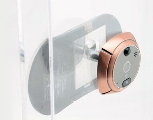 judas connect s m me les oeilletons de portes deviennent des objets connect s. Black Bedroom Furniture Sets. Home Design Ideas