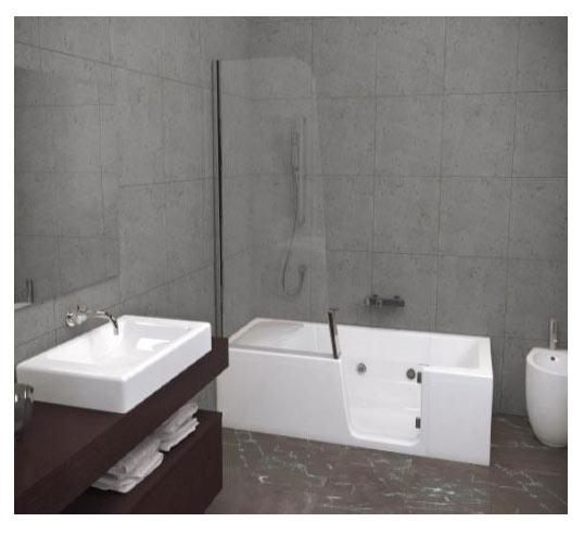 douche baignoire pour senior equipement adaptation des salles de bains pour les seniors. Black Bedroom Furniture Sets. Home Design Ideas