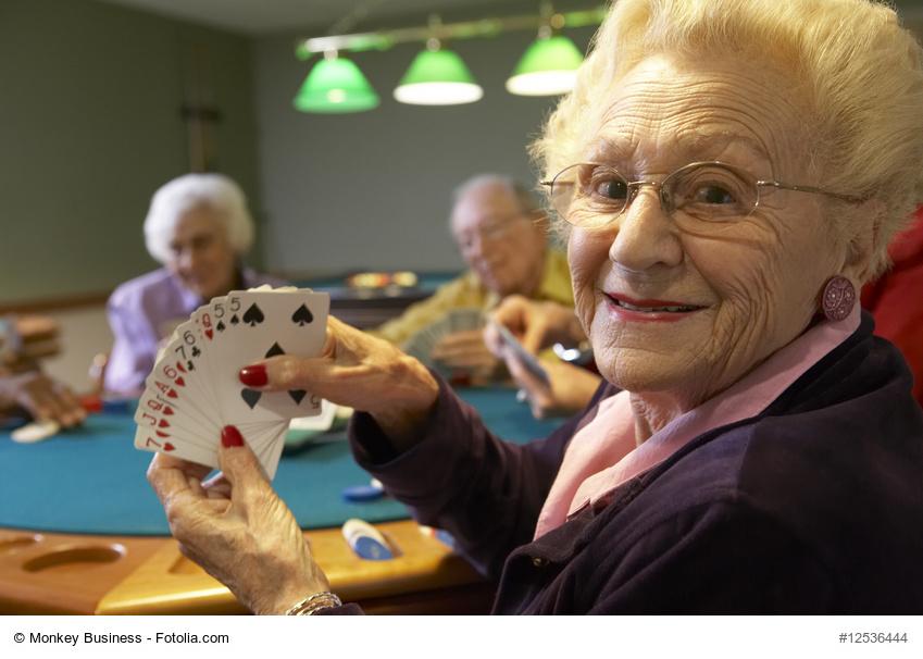 Guide des maisons de retraite avec Capgeris, portail d'information pour les  personnes agées : Bridge et Maladie d'Alzheimer