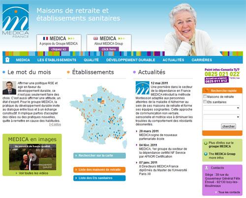 Guide des maisons de retraite avec Capgeris, portail d'information pour les personnes agées : MEDICA : du mouvement dans le capital du gestionnaire d'Ehpad, SSR et de cliniques psychiatriques