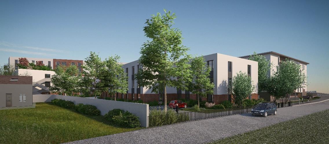 Une projet innovant à BRON de logement pour tous les âges de la vie