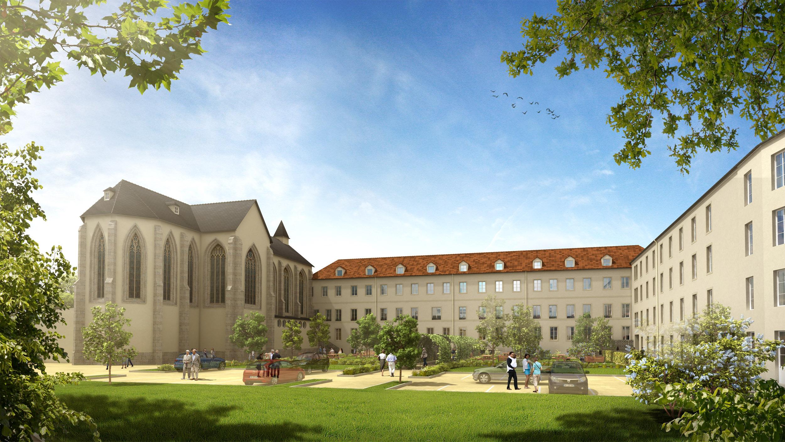 Ouverture de la nouvelle r sidence avec services pour - Residence les jardins de la haye nancy ...