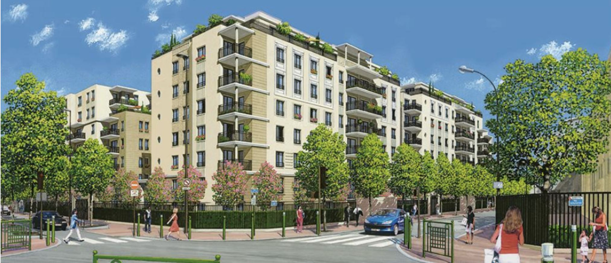 Ouverture d'une nouvelle résidence avec services à Suresnes : Terre de Seine
