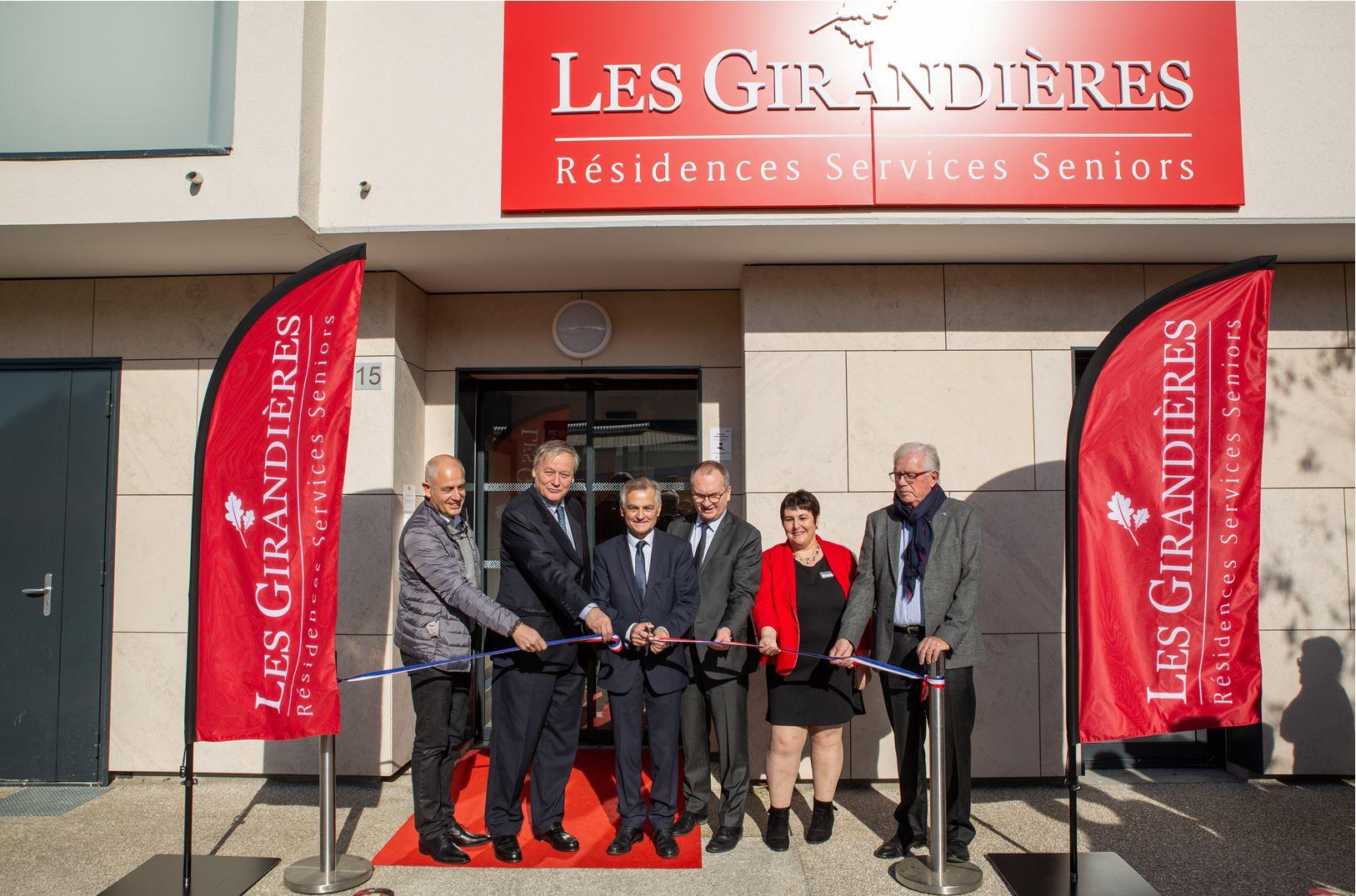 Inauguration de la résidence services seniors Les Girandières à Bourgoin-Jallieu #RésidenceSenior #LesGirandières #Bourgoin-Jallieu