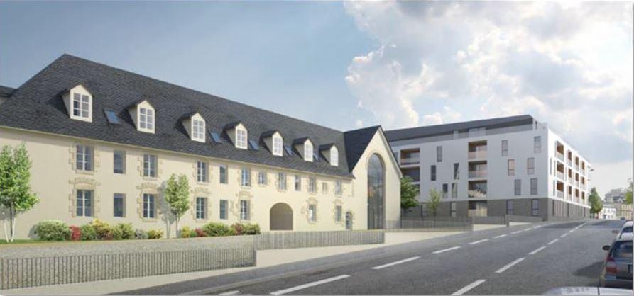 Nouvelle acquisition en bloc d'une résidence services senior à Vannes par La Française Real Estate Partners