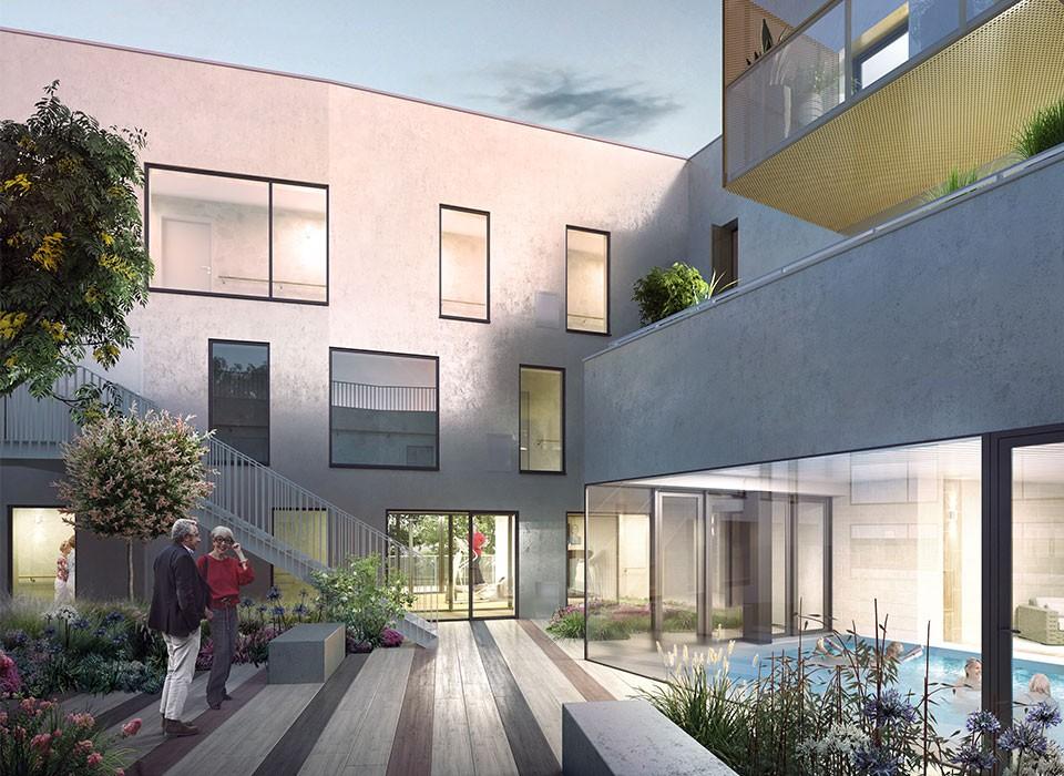 Investir rennes chantepie dans une r sidence senior appartement t3 - Investir dans une maison de retraite ...