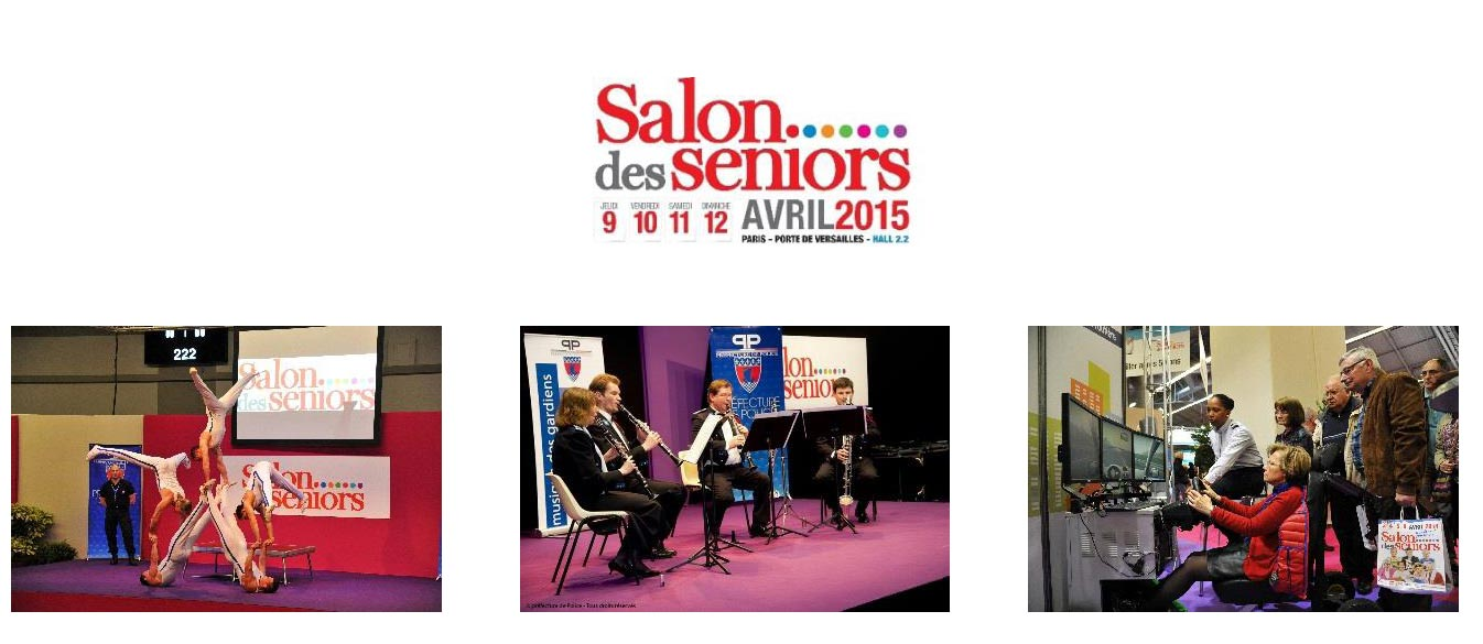 Bien pr parer sa visite au salon des seniors paris for Porte de versailles salon formation artistique