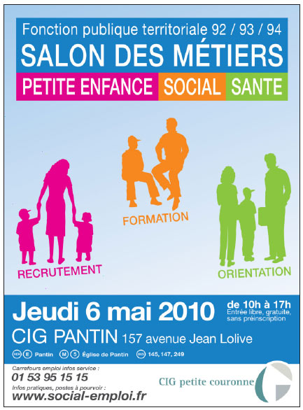 Salon des m tiers petite enfance social et sant for Salon petite enfance 2017