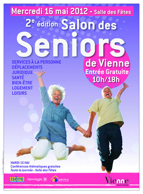Salon des seniors de vienne 38 for Salon seniors