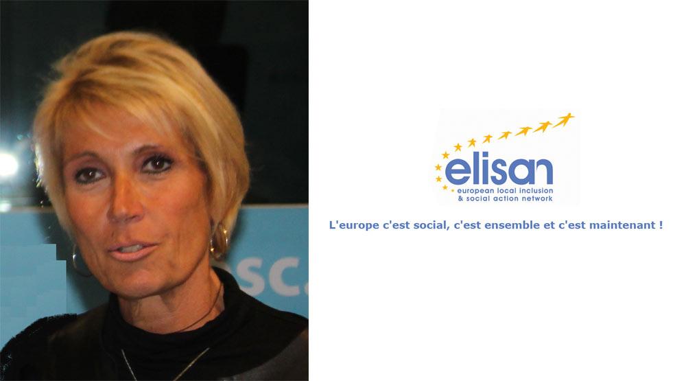 Sylvie CARREGA, nouvelle Présidente d'ELISAN