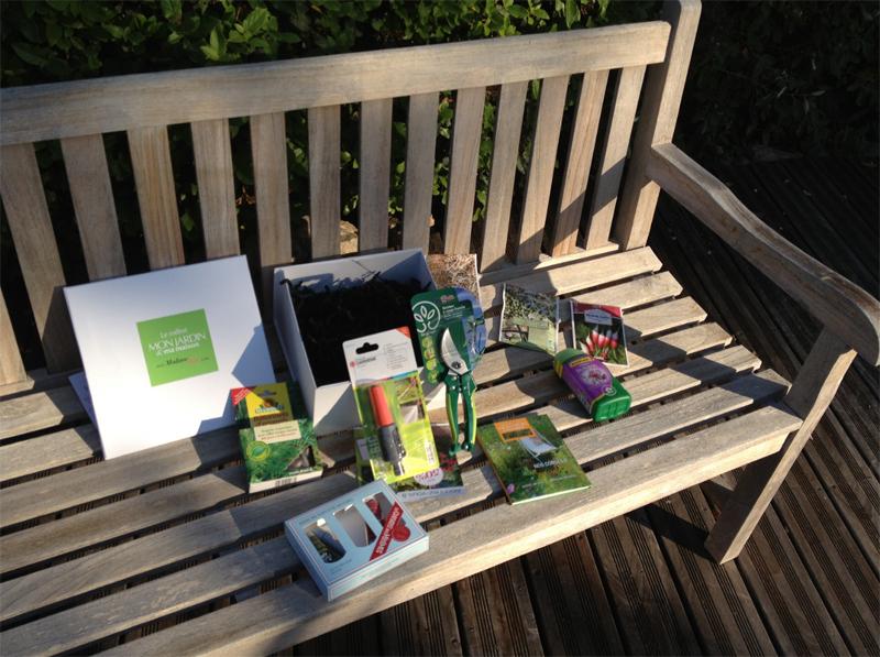 A la découverte de la première Box Jardin : Mon Jardin & Ma Maison