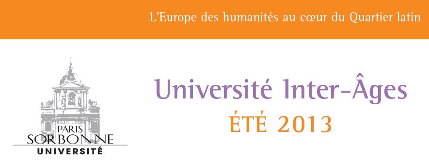 Université Inter-Âges de la Sorbonne : Interview de Madame Joëlle BOSCHER
