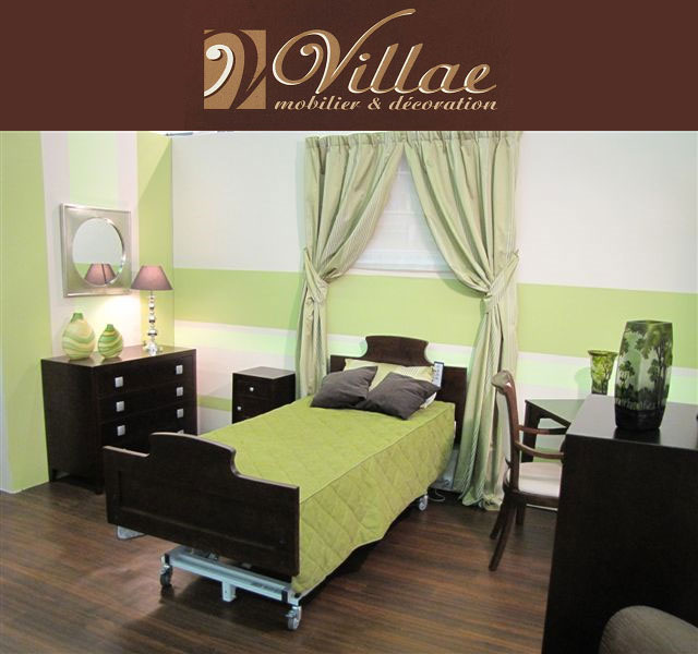 d coration en maison de retraite parole aux professionnels. Black Bedroom Furniture Sets. Home Design Ideas