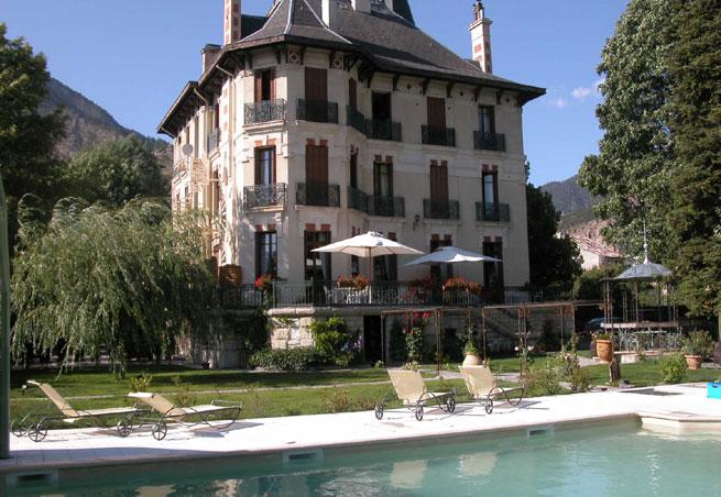 Hotel bien tre et spa villa morelia jausiers dans les for Salon villa jardin morelia