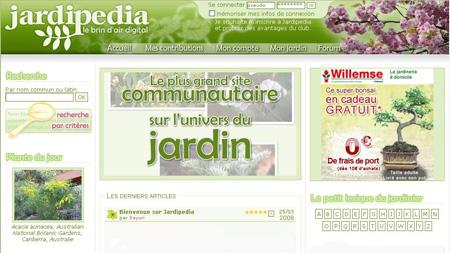 Ginkgo diffusion lance le site Jardipedia.com