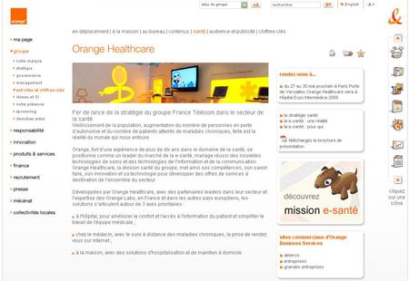 dbmotion. Orange et dbMotion présent au