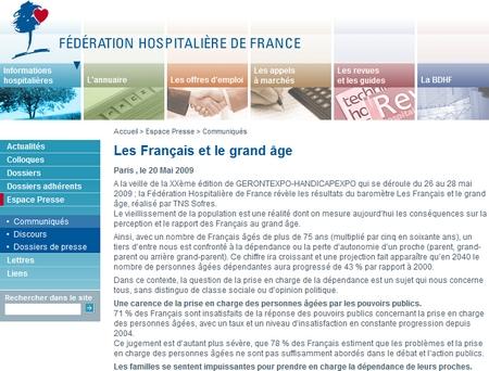Les Français et le grand âge