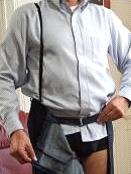 Des pantalons munis de zips