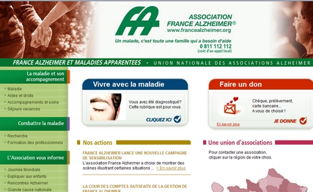 Campagne de sensibilisation Alzheimer