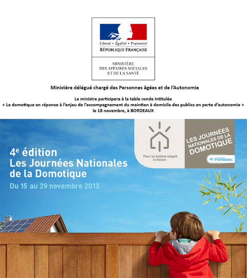 4ème édition des Journées Nationales de la Domotique, à Bordeaux