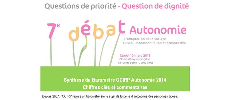 Guide des maisons de retraite avec Capgeris, portail d'information pour les  personnes agées : Perte d'autonomie : Que savent les français ? Qu'attendent-ils de la loi en préparation ?
