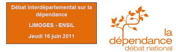 Débat interdépartemental sur la dépendance en Limousin
