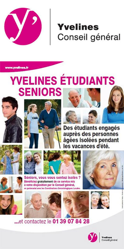 Dispositif Yvelines Etudiants Seniors : 10 ans après la canicule de 2003,