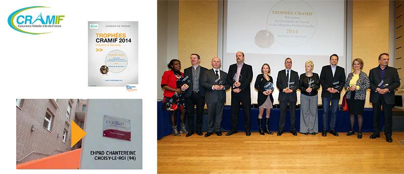 Guide des maisons de retraite avec Capgeris, portail d'information pour les  personnes agées : Trophées CRAMIF 2014