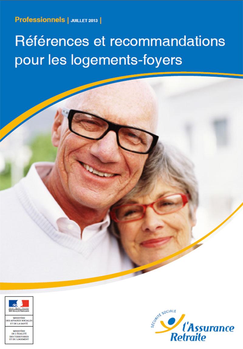 Guide des maisons de retraite avec Capgeris, portail d'information pour les  personnes agées : La DGCS et la CNAV publient un guide Références et recommandations pour les logements-foyers