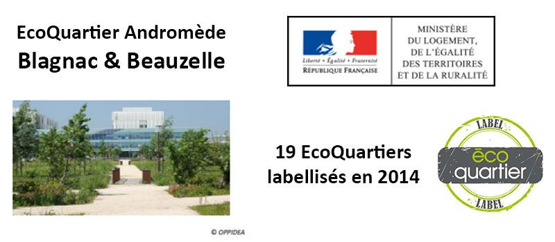 Un projet d'EHPAD dans l'EcoQuartier Andromède de Blagnac et Beauzelle